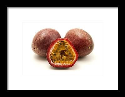 Passionfruit Framed Prints