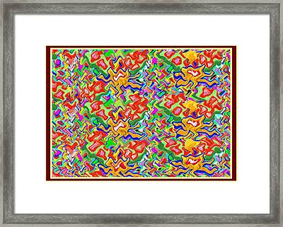 Passion Gold Fashion Gold Framed Print