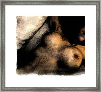 Framed Print featuring the painting Passion by Iconic Images Art Gallery David Pucciarelli