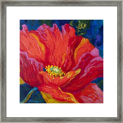 Passion II Framed Print by Marion Rose