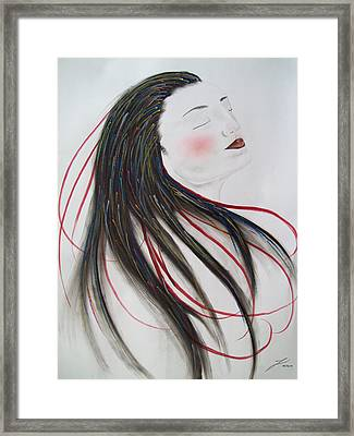 Passion Framed Print by Justin D B