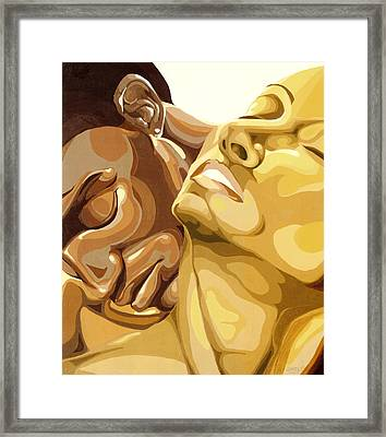 Passion Framed Print by Lamark Crosby