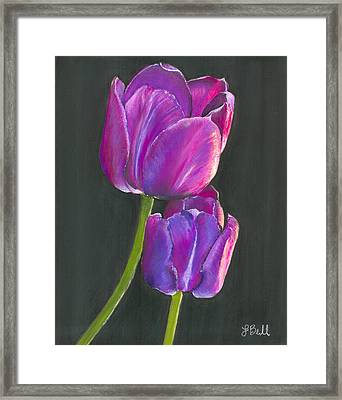 Passion  Framed Print by Laura Bell