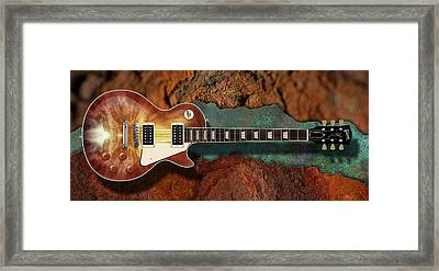Passion Les Paul Framed Print