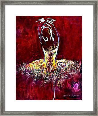 Passion Framed Print by Lynda Payton