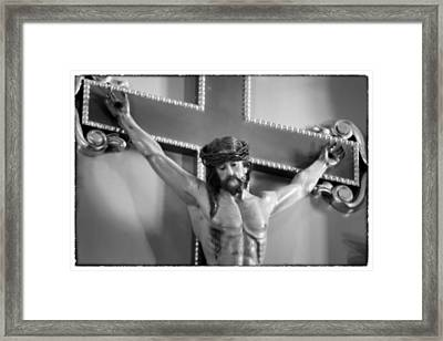Passion - Mission San Jose Framed Print by Stephen Stookey