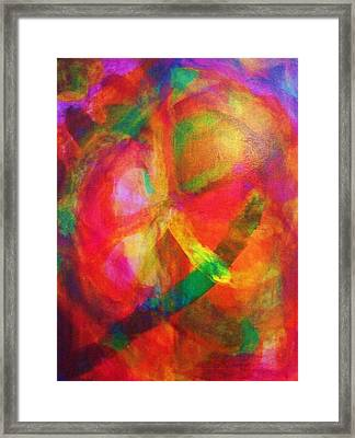 Passion Number Two Framed Print by Ricky Gagnon