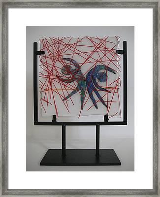 Passion Rain Framed Print by Mark Lubich