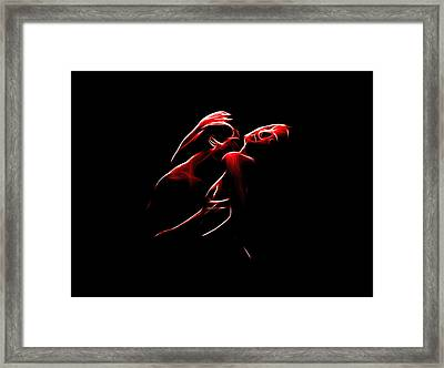 Passion Framed Print by Steve K