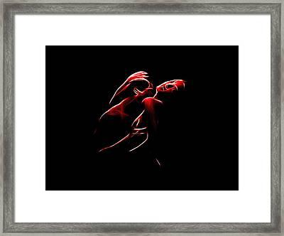 Passion Framed Print by Steve K