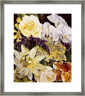 Passion With Spring Framed Print
