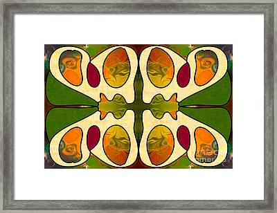 Passionate Devotion Abstract Art By Omashte Framed Print by Omaste Witkowski