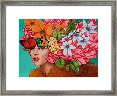 Passionate Pursuit Framed Print by Helena Rose