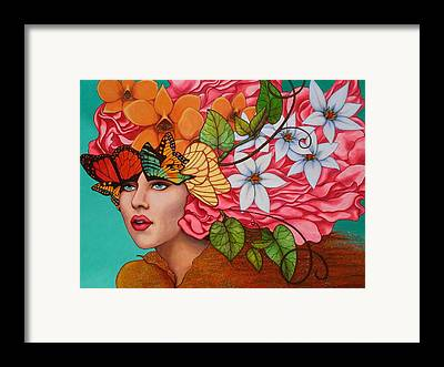 Flower Framed Prints