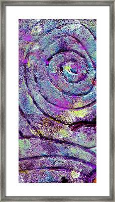 Passionate Swirl Framed Print