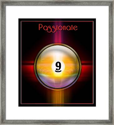 Passionate9 Framed Print by Draw Shots