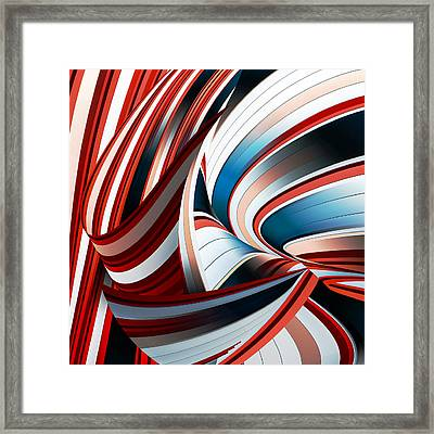 Passione Annodata Framed Print by Gilbert Claes