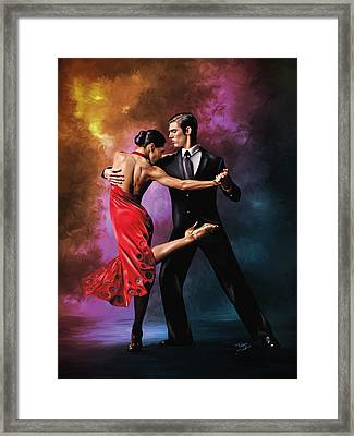 Passione Argentina Framed Print