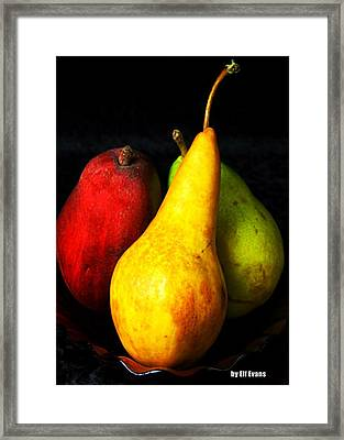 Passions 1 Signed Framed Print