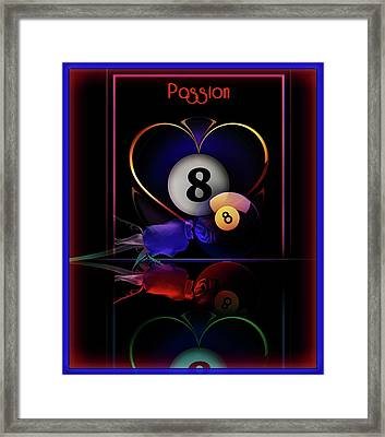 Passions Framed Print by Draw Shots