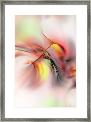 Passions Flame Framed Print