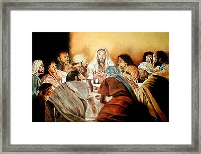 Passover Framed Print by G Cuffia