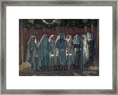 Passover Framed Print by Tissot