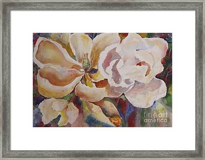 Past Full Bloom Framed Print