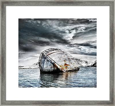 Past Glory Framed Print by Jacky Gerritsen