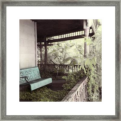Past Overgrown 1 In Color Framed Print by Julie Hart