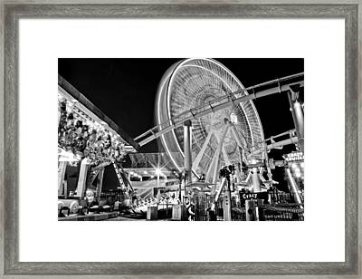 Past Time Framed Print by Aron Kearney