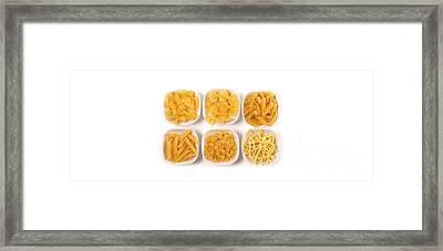 Pasta Framed Print by Andreas Berheide