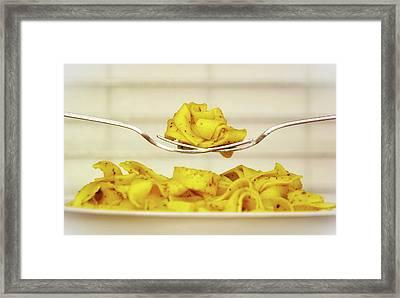 Pasta Framed Print by Congerdesign