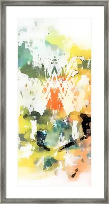Pastel Abstract Framed Print