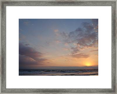 Pastel Breeze Framed Print