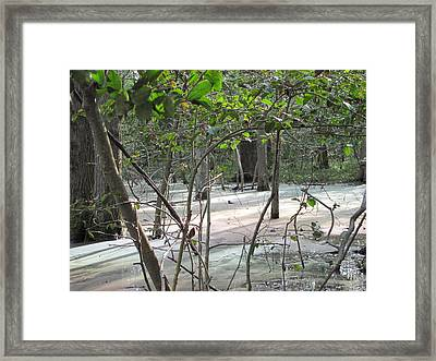 Pastel Light Framed Print