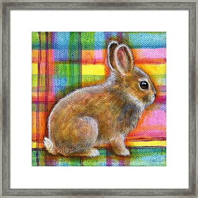 Framed Print featuring the painting Pastel Love by Retta Stephenson