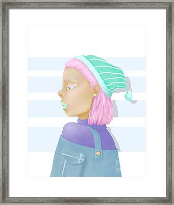 Pastel Framed Print by Morgan Temple