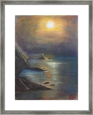 Pastel Msc 002 Framed Print