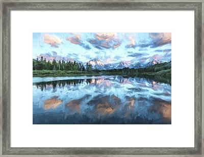 Pastel Palette II Framed Print