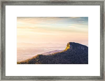 Table Rock Mountain - Linville Gorge North Carolina Framed Print