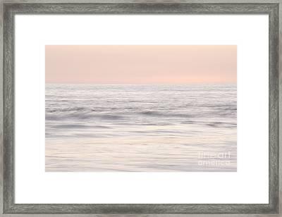 Pastel Seascape Framed Print