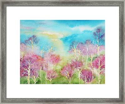 Pastel Spring Framed Print