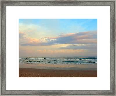 Pastel Sunrise Framed Print