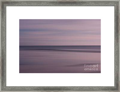Pastel Sunrise Framed Print by Michelle Stevens