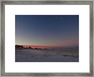 Pastel Winter Framed Print