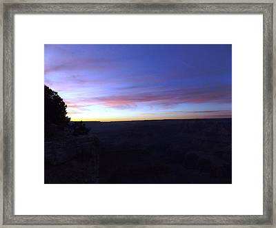 Pastels At Dark Framed Print by Adam Cornelison
