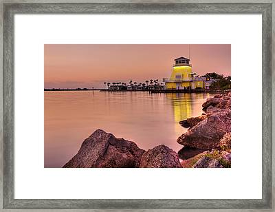Pastels At Dusk Framed Print