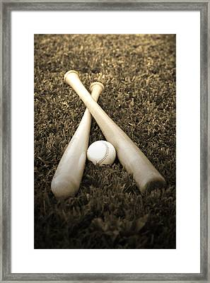 Pastime Framed Print by Shawn Wood