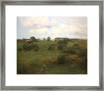 Pastoral Landscape  Framed Print by MotionAge Designs